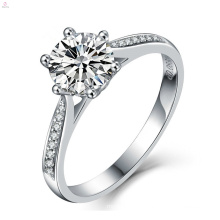 S925 Sterling Silver Zircon Engagement Wedding Ring
