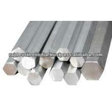 304 Barra / barra del hexágono del acero inoxidable de la alta calidad