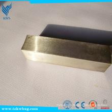 304 Grille carrée en acier inoxydable / tige laminée à chaud