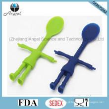 Novo estilo miúdos colher de silicone colher de silicone para crianças sk28