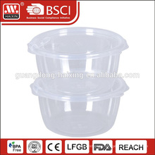 Customized printing transparent BPA free multi size plastic box