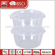 Заказной печати прозрачные BPA Бесплатный multi размер пластиковая коробка