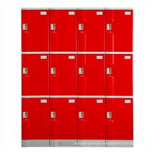 ABS plastic employee locker / assembled easily /low cost locker staff locker