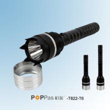2014 Новый полицейский фонарик CREE Xm-L T6 Самый яркий светодиодный фонарик Poppas -T822