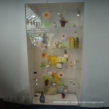 Acrylic Display Cabinet/Practical Acrylic Storage Display with Lock