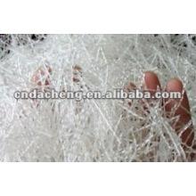 Polyesterfaser für den Straßenbau