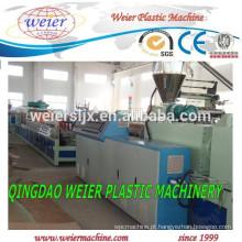 linhas de extrusão de placa de porta placa de espuma de plástico PVC de WPC