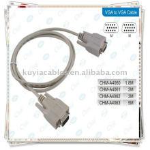 Câble VGA / VGA / RGB Câble 15PIN / câble SVGA / ordinateur CABLE MONITEUR M / M pour moniteur LCD CRT