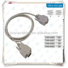 VGA/ VGA Cable/RGB 15PIN Cable/SVGA Cable /Computer MONITOR CABLE M/M for CRT LCD Monitor