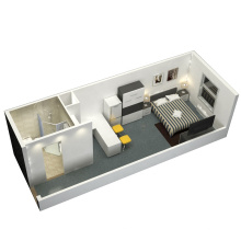 Maison de conteneur de maison de conteneur personnalisé de bâtiment modulaire