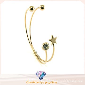 Crystal Silver Star Bangles and Bracelet Jewelry (G41329)
