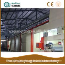 4 feet printing designed paper impregnation line/HPL kraft paper impregnating line