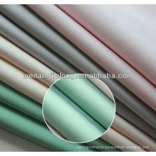 Luxurious 100% cotton combed satten 400T bedsheet fabric for hotel