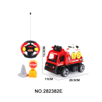 2.4G 4CH Assemble R/C Small Ambulance Fire Car