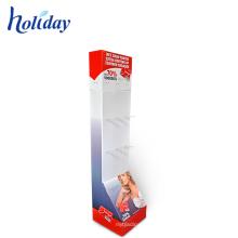 Store Retail Underwear Rack Cardboard Floor Underwear Display Stand