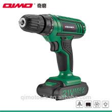 Qimo power drill batterie rechargeable électrique au lithium pour chargeur sans fil 18v 1009D 18v 10mm 0-550r / m