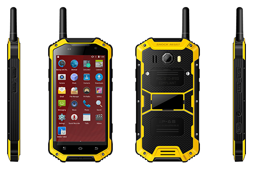 4400mAh Battery IP68 Military Handset