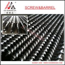 BATTENFELD twin parallel screw barrel for pvc pipe