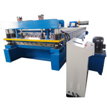 China Supplier Zinc Panel Trapezoidal Metal Roofing Roll Forming Machines For Sale Tile Making Machinery