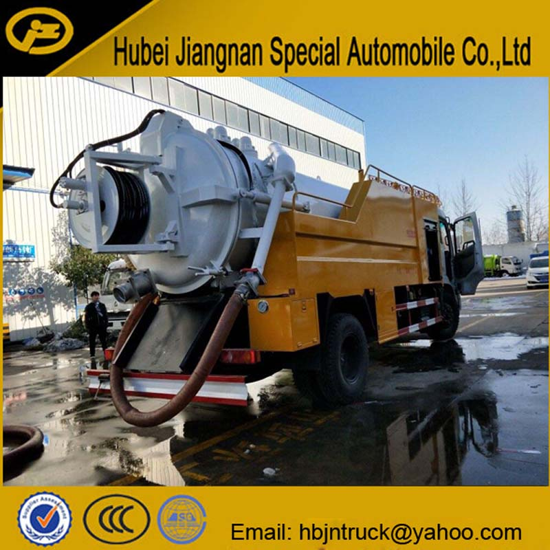 Sewage Suction Jetting Truck