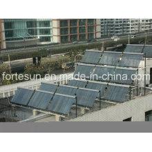 Chauffe-eau solaire commercial pour le chauffage de l'eau