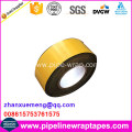 Black color PE self adhesive bitumen tape