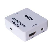 HDMI para HDMI + conversor de áudio (CE, RoHS, FCC aprovado, YLC-M612)