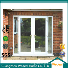 Aluminum French Style Glass Sliding Patio Door for Project
