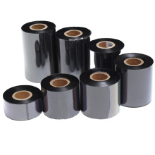 Hot selling factory thermal transfer ink ribbon labels barcode ribbon for TTR printer