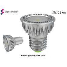 E26/E27/GU10 5W Spot Triac Dimmable LED Light Bulbs with CE RoHS UL