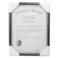 Конкурентоспособная цена 8.5x11 дюймов сертификат кадр