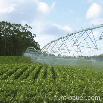 Irrigation à pivot central de 60 m de portée