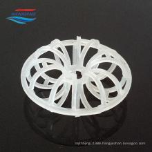 PP/PE/PVC/CPVC/PVDF Plastic tellerette ring for tower packing