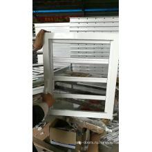 алюминиевое окно безопасное стекло жалюзи открываемая плантация жалюзи окно вентиляционной решетки