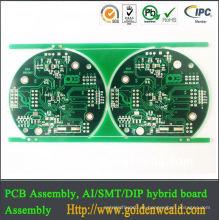 Gelb 4 Schicht Multilayer Leiterplattenhersteller xbox 360 Controller Leiterplatten