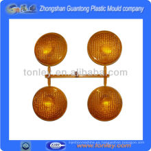 montón de diversa forma molde plástico de la lámpara inyección piezas manufacture(OEM)