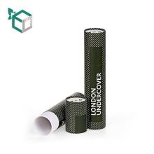 Luxury Gift Tube Cardboard Round Paper Packaging Box For Bottles