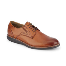 Brand Logo Customized New Design Classic Men's Formal Oxfords Genuine Leather Dress Shoes