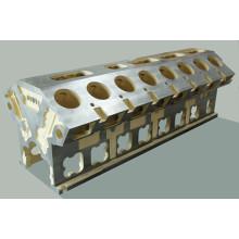 OEM Custom серый / ковкий железа токарный станок кровать литья