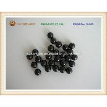 Bola de cristal de precisión / granos/negro vidrio bola de vidrio