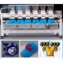 HOLiAUMA Six Heads DAHAO System Computerized Embroidery Machine Closed to TAJIMA