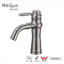 Haijun Quality Products Durable Stainless Steel Thermostatic Sink Basin Faucet