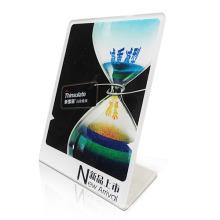 Einseitiger Acryl-Werbe-Display-Halter mit SGS-Zertifizierungen