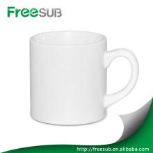 6oz billige Plain Keramik weiß Kaffee-Haferl