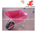 Wb6414 China Supplier of High Quality Pink-Plastic Wheelbarrow