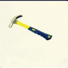 Haute qualité britannique Claw Type Marteau avec poignées en plastique de revêtement