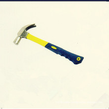 British-Type Claw Hammer with Plastic-Coating Handles