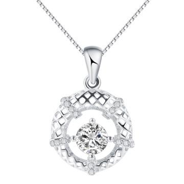 Мода Korea ювелирные изделия Twinkle небо полые круглый кулон в серебро горячий подарок надувательства
