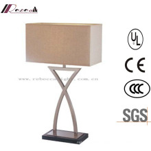 Contemporary Nightstand Matt Black Bedside Table Lamp
