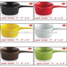 Mais tamanhos Opção Ceramic milk pot for BS12081A